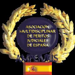 ASOCIACIÓN MULTIDISCIPLINAR DE PERITOS JUDICIALES DE ESPAÑA (Registrado con el número 616849 en el Registro Nacional de Asociaciones del Ministerio del Interior y N.I.F. G06739163).